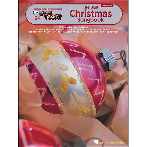 Hal Leonard Best Christmas Songbook 2nd Edition E-Z Play 164
