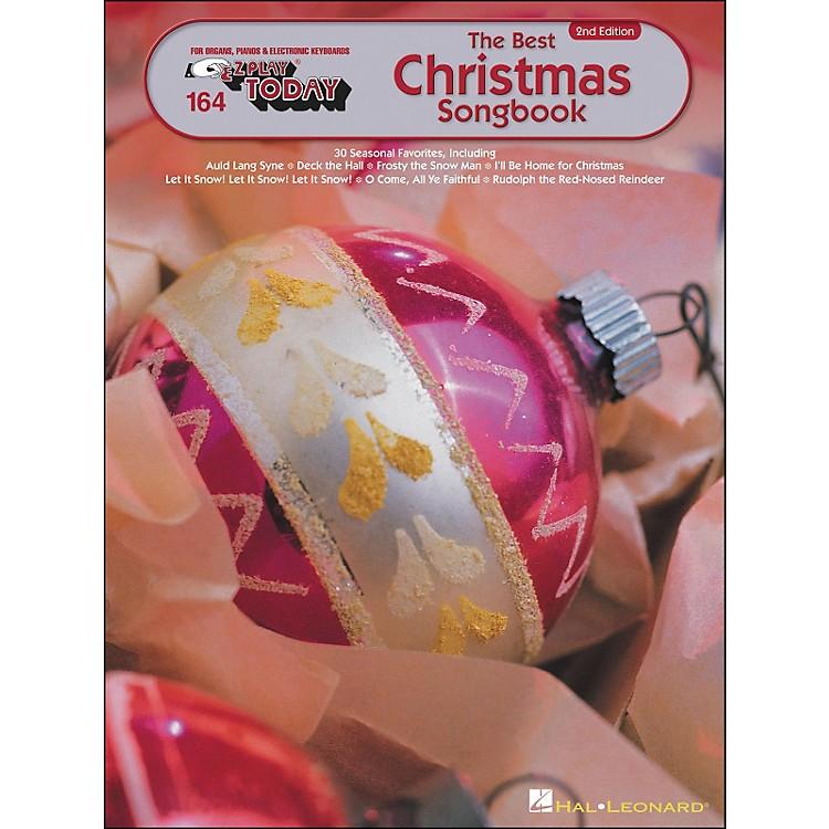 Hal LeonardBest Christmas Songbook 2nd Edition E-Z Play 164