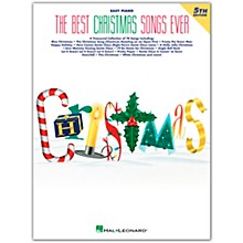Hal Leonard Best Christmas Songs Ever 4th Edition For Easy Piano