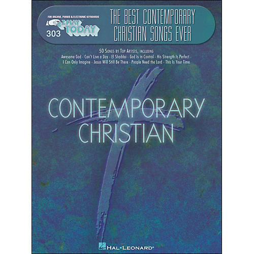 Hal Leonard Best Contemporary Christian Songs Ever E-Z Play 303