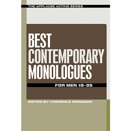 Applause Books Best Contemporary Monologues for Men 18-35 Applause Acting Series Series Softcover by Lawrence Harbison-thumbnail