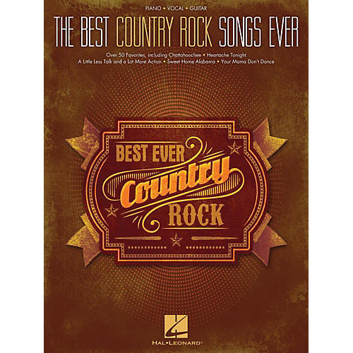 Hal leonard best country rock songs ever piano vocal for Best house music ever