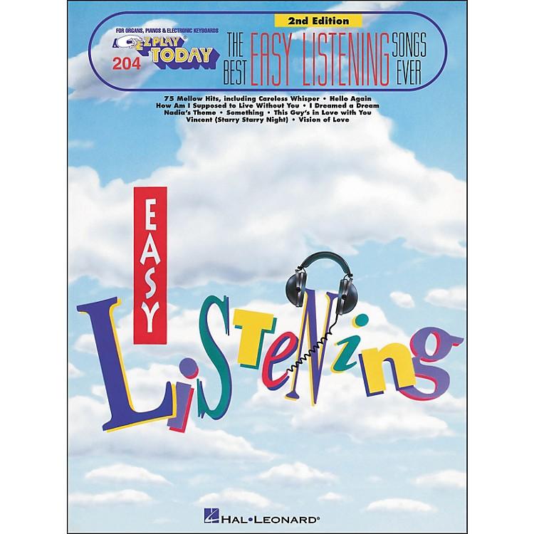 Hal LeonardBest Easy Listening Ever 2nd Edition E-Z Play 204