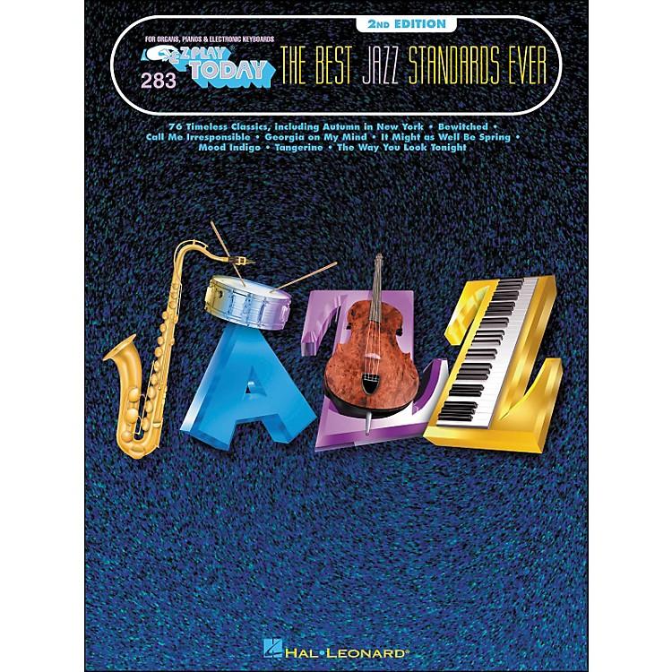 Hal LeonardBest Jazz Standards Ever 2nd Edition E-Z Play 283