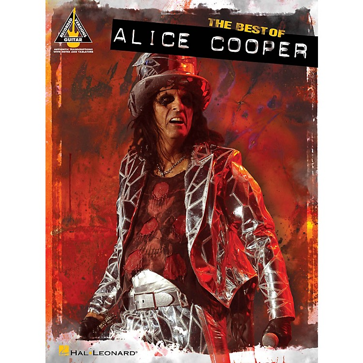 Hal Leonard Best Of Alice Cooper Guitar Tab Songbook