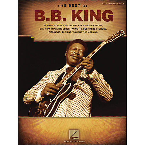 Hal Leonard Best Of B.B. King arranged for piano, vocal, and guitar (P/V/G)-thumbnail