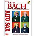 Cherry Lane Best Of Bach Alto Sax  Thumbnail