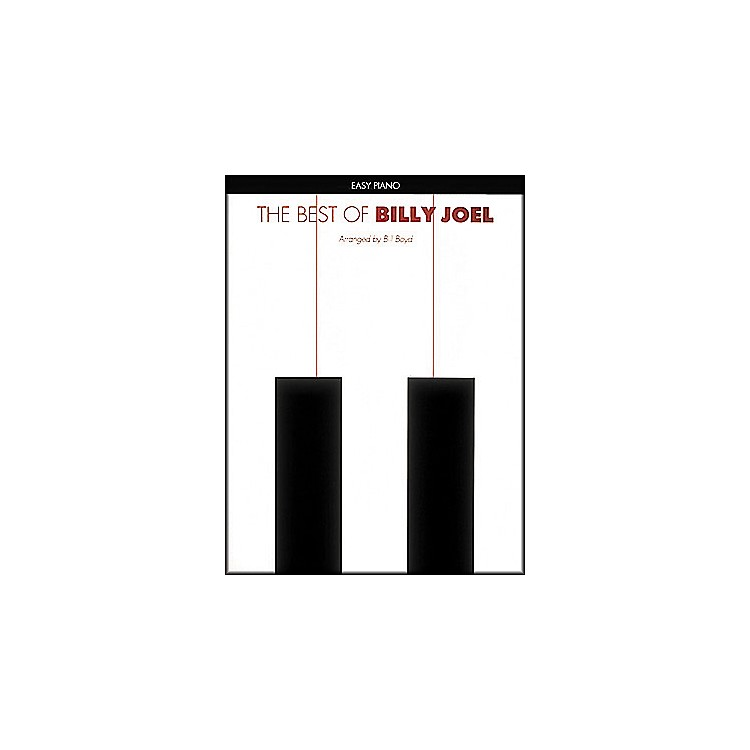 Hal Leonard Best Of Billy Joel Easy Piano Collection