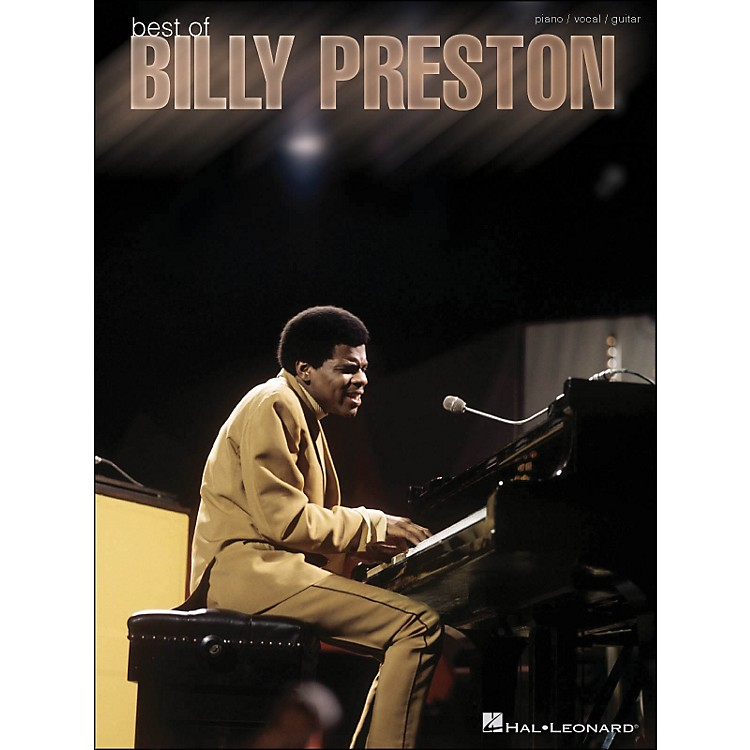Hal LeonardBest Of Billy Preston arranged for piano, vocal, and guitar (P/V/G)