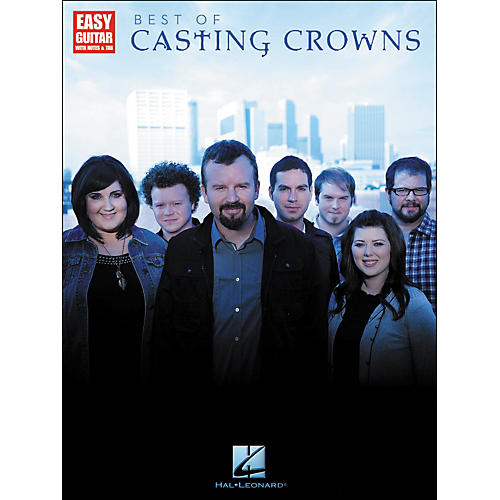 Hal Leonard Best Of Casting Crowns - Easy Guitar with Notes & Tab-thumbnail