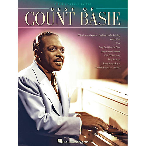 Hal Leonard Best Of Count Basie for Piano/Vocal/Guitar-thumbnail
