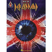 Hal Leonard Best Of Def Leppard Guitar Tab Songbook