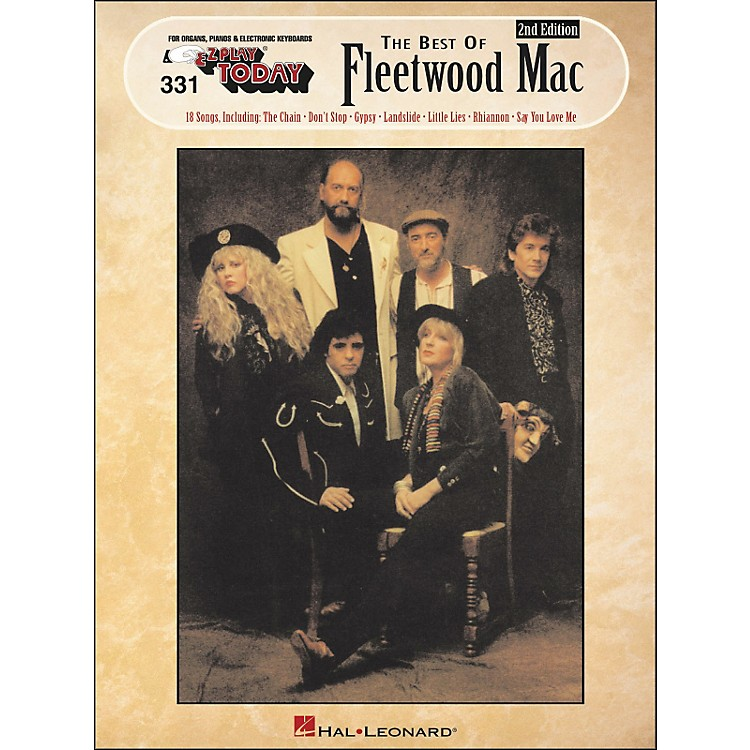 Hal LeonardBest Of Fleetwood Mac 2nd Edition E-Z Play 331