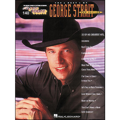 Hal Leonard Best Of George Strait 2nd Edition E-Z Play 140