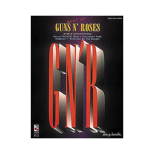 Cherry Lane Best Of Guns N' Roses Guitar Tab Songbook