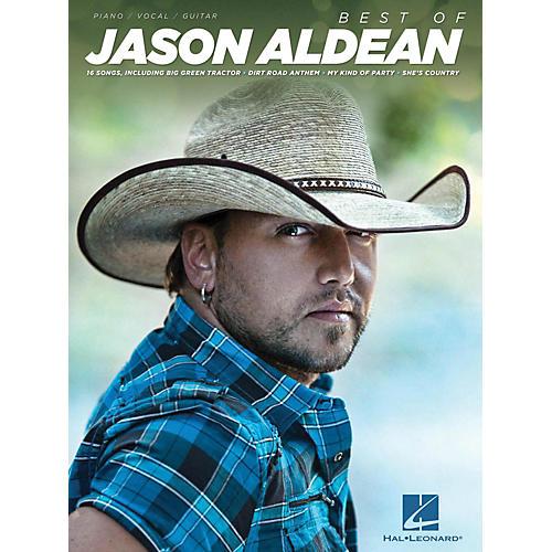 Hal Leonard Best Of Jason Aldean Piano/Vocal/Guitar (PVG)-thumbnail