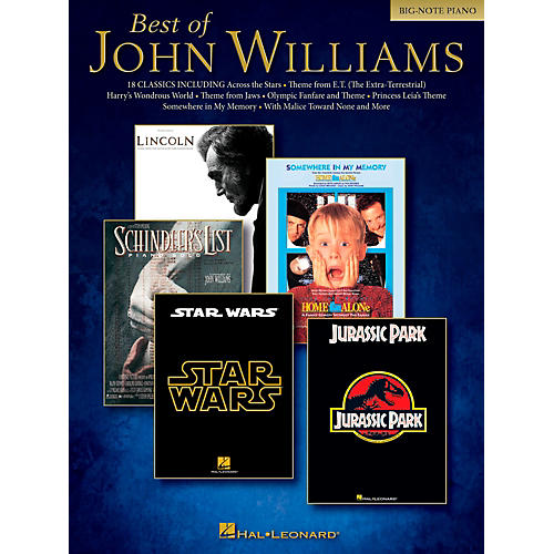 Sheet Music For Imperial March On Piano: Hal Leonard Best Of John Williams For Big Note Piano
