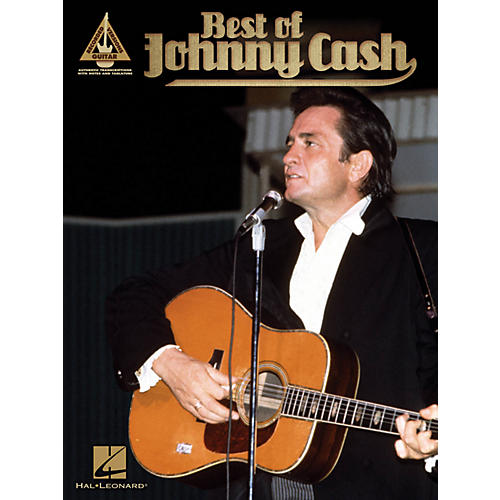 Hal Leonard Best Of Johnny Cash Guitar Tab Songbook