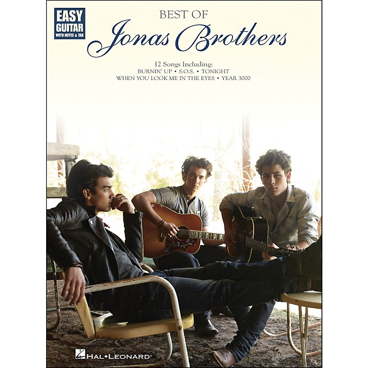 Hal Leonard Best Of Jonas Brothers Easy Guitar with Tab