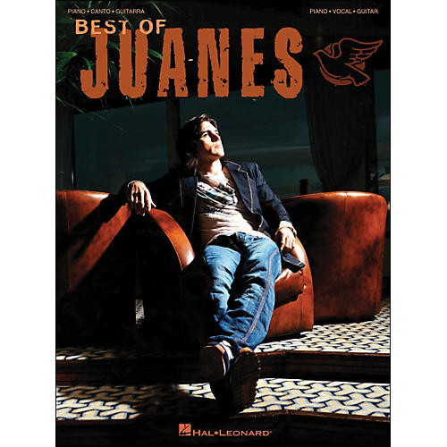 Hal Leonard Best Of Juanes arranged for piano, vocal, and guitar (P/V/G)-thumbnail