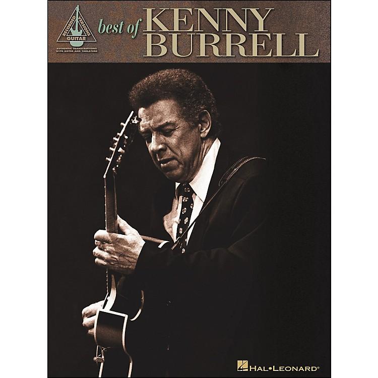 Hal LeonardBest Of Kenny Burrell Tab Book