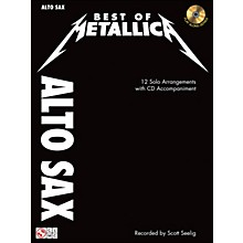 Cherry Lane Best Of Metallica Alto Sax