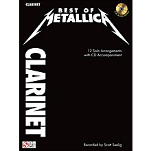 Cherry Lane Best Of Metallica Clarinet