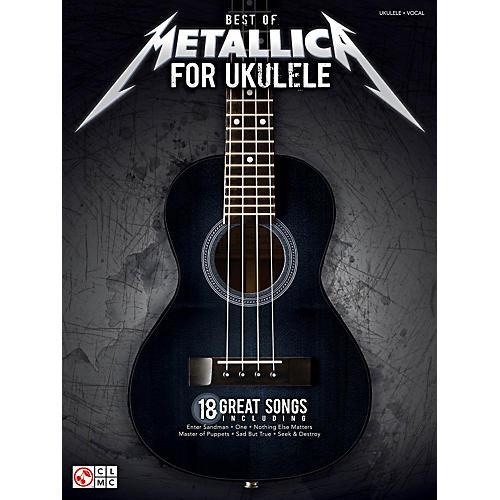 Cherry Lane Best Of Metallica For Ukulele-thumbnail