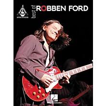 Hal Leonard Best Of Robben ford Tab Book