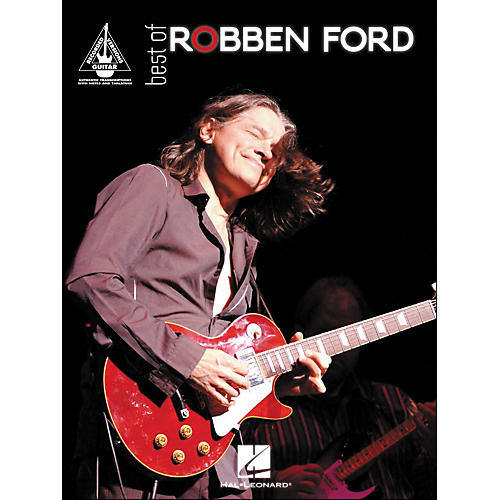 Hal Leonard Best Of Robben ford Tab Book-thumbnail