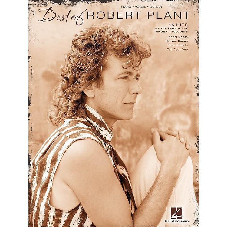 Hal LeonardBest Of Robert Plant PVG Songbook