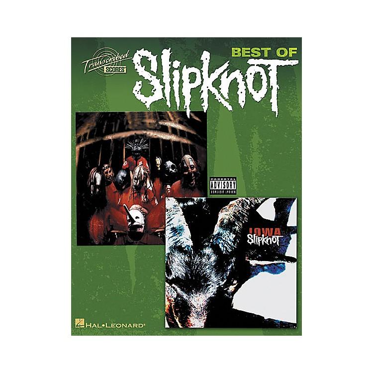 Hal LeonardBest Of Slipknot Guitar Tab Songbook