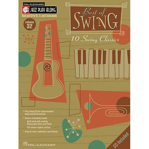 Hal Leonard Best Of Swing--Jazz Play Along Volume 32 Book with CD