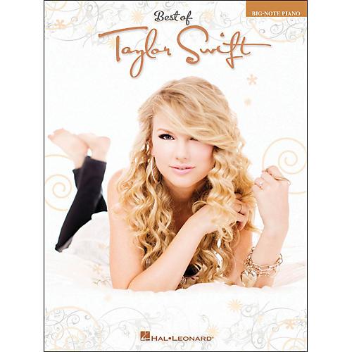 Hal Leonard Best Of Taylor Swift Big Note Piano-thumbnail