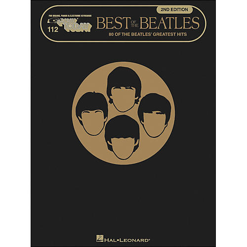 Hal Leonard Best Of The Beatles 2nd Edition E-Z Play 112-thumbnail