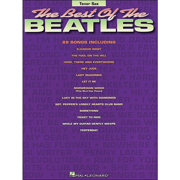 Hal Leonard Best Of The Beatles Tenor Sax