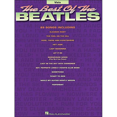 Hal Leonard Best Of The Beatles Viola