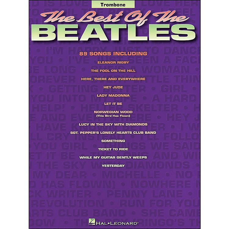 Hal Leonard Best Of The Beatles for Trombone