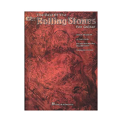 Hal Leonard Best Of The Rolling Stones Easy Guitar Tab Book