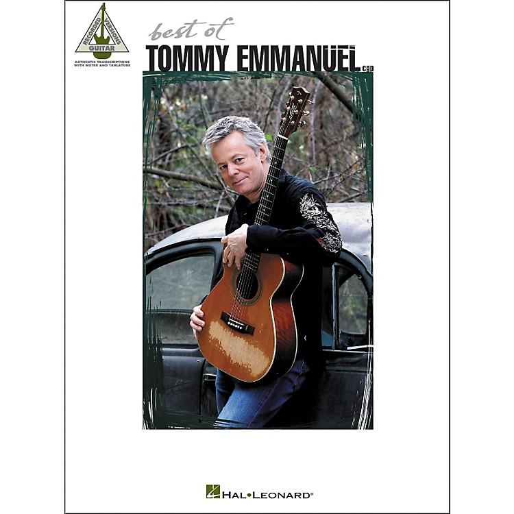 Hal LeonardBest Of Tommy Emmanuel Tab Book