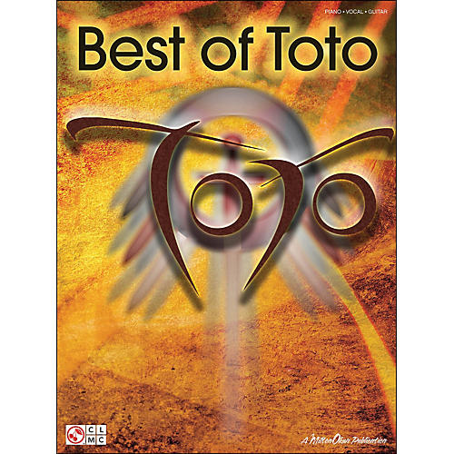 Cherry Lane Best Of Toto arranged for piano, vocal, and guitar (P/V/G)