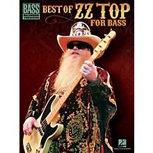 Hal Leonard Best Of ZZ Top For Bass