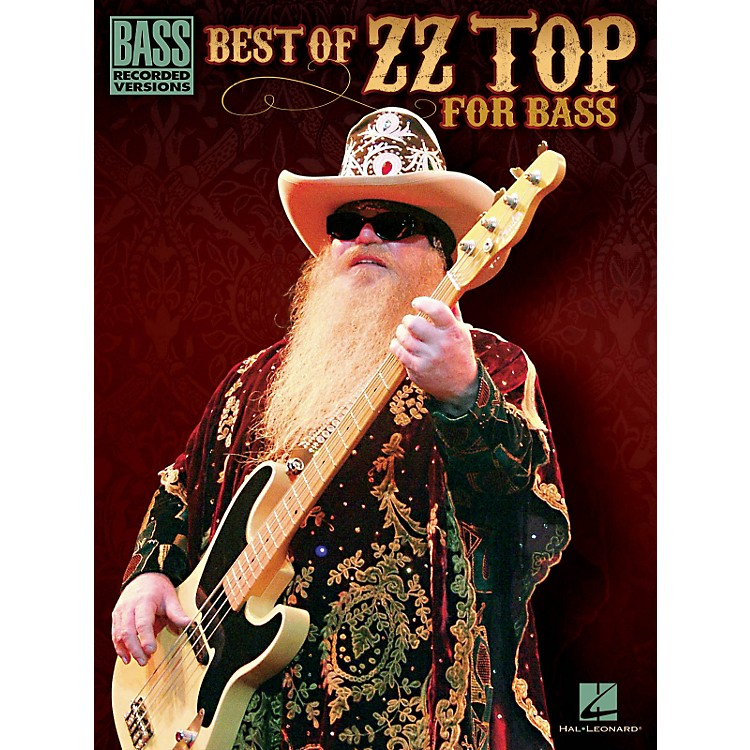 Hal LeonardBest Of ZZ Top For Bass