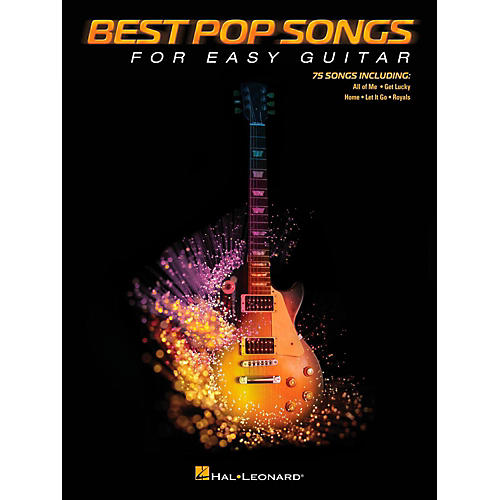 Hal Leonard Best Pop Songs For Easy Guitar (No Tab)