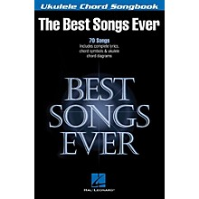 Hal Leonard Best Songs Ever - Ukulele Chord Songbook