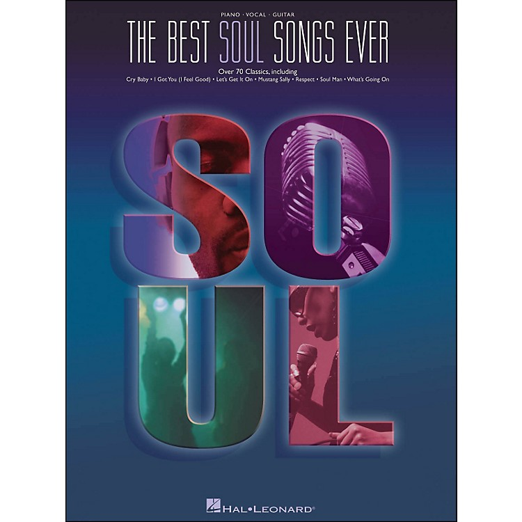 Hal Leonard Best Soul Songs Ever arranged for piano, vocal, and guitar (P/V/G)