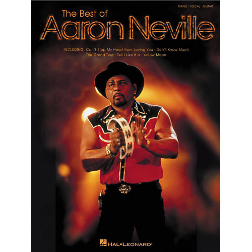 Hal Leonard Best of Aaron Neville Piano, Vocal, Guitar Songbook