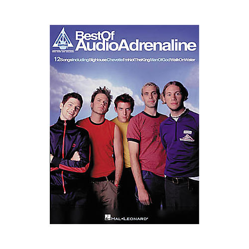Hal Leonard Best of Audio Adrenaline Book-thumbnail
