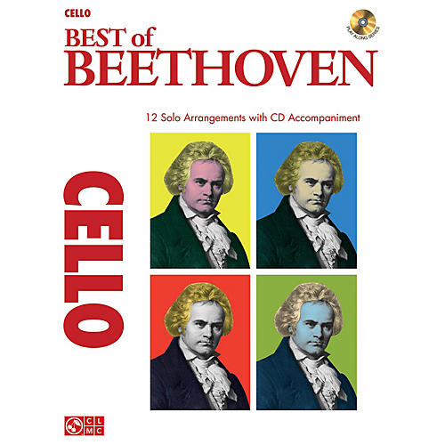 Cherry Lane Best of Beethoven Instrumental Play-Along Series Softcover with CD-thumbnail