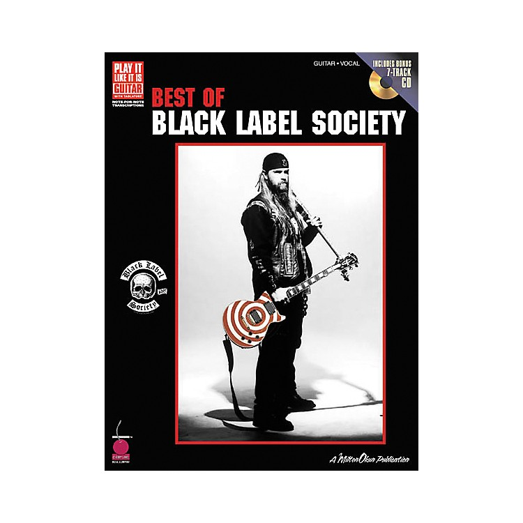 Cherry Lane Best of Black Label Society Book with CD